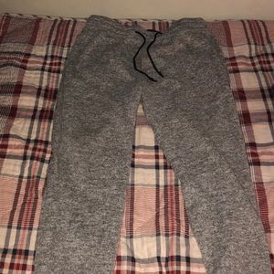 Abercrombie and Fitch gray sweatpants